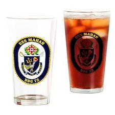 DDG-72 USS Mahan Drinking Glass