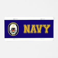 USS Decatur DDG-73 Aluminum License Plate