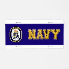 DDG-72 USS Mahan Aluminum License Plate