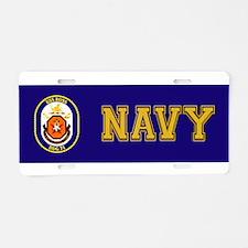 DDG-71 USS Ross Aluminum License Plate