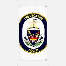 Uss Decatur Ddg-73 Banner