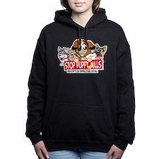 STOP Puppy Mills Women's Hooded Sweatshirt