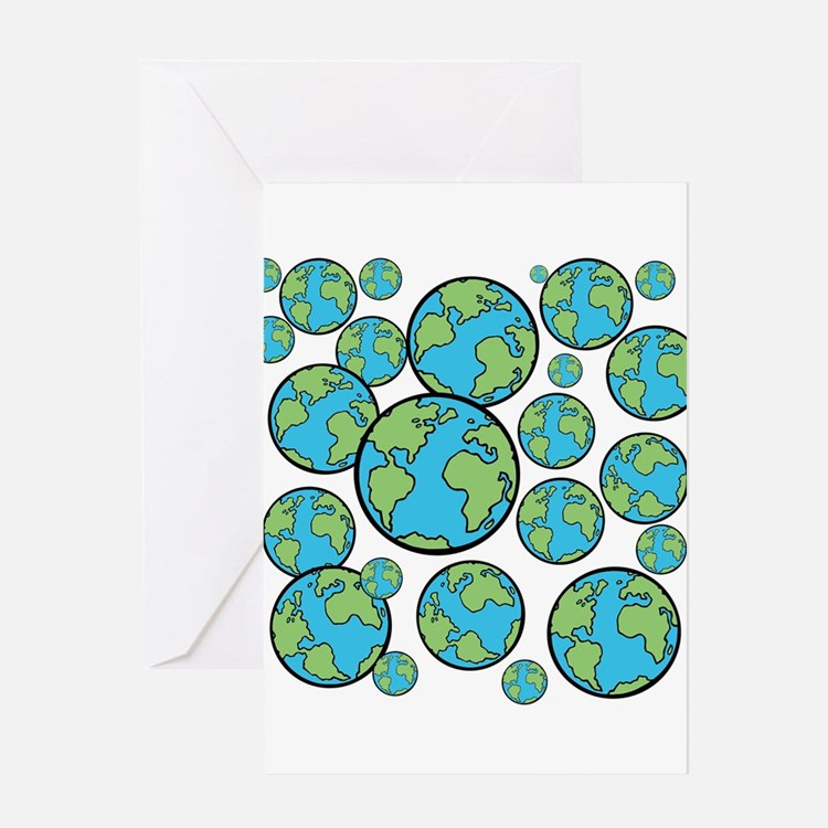Parallel universe Greeting Cards