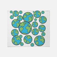 Parallel universe Throw Blanket