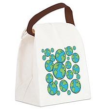 Parallel universe Canvas Lunch Bag