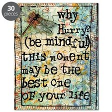 Why Hurry? Inspirational Puzzle