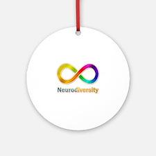 Neurodiversity Ornament (Round)