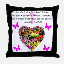 GALATIANS 5 Throw Pillow