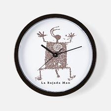 La Bajada Man Wall Clock