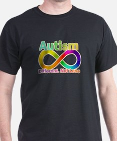 Autism. Different. Not Less T-Shirt