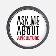 Apiculture - Ask Me About Wall Clock