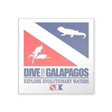 Dive The Galapagos Sticker