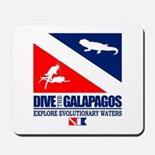 Dive The Galapagos Mousepad