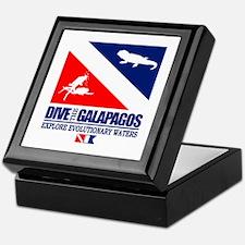 Dive The Galapagos Keepsake Box