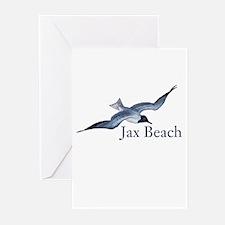 Jax Beach Greeting Cards