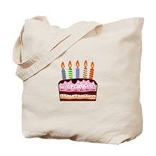 Birthday Cake Food Dessert Tote Bag