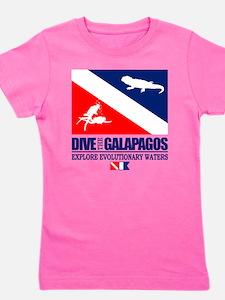 Dive The Galapagos Girl's Tee