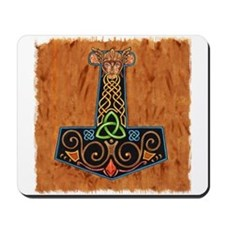 Thors Hammer in color Mousepad