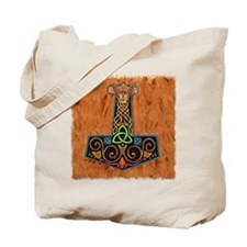 Thors Hammer in color Tote Bag