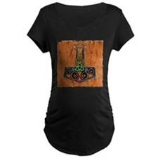 Thors Hammer in color Maternity T-Shirt