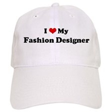 I Love Fashion Designer Baseball Cap