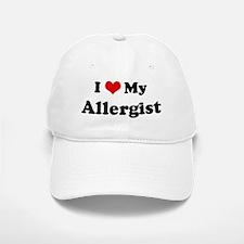 I Love Allergist Baseball Baseball Cap