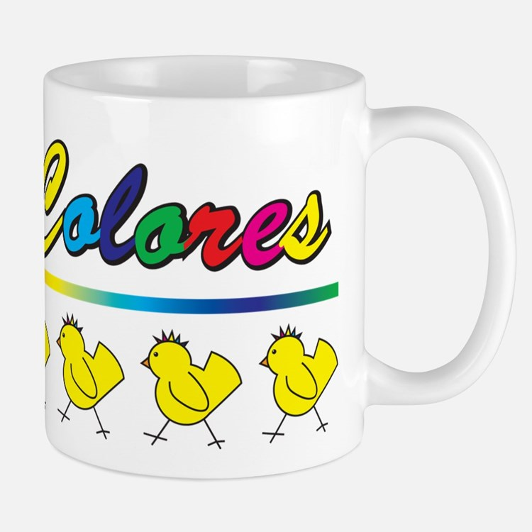 Decolores_Chick Mugs