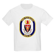 USS Ramage DDG 61 Kids T-Shirt
