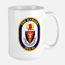 USS Ramage DDG 61 Mug
