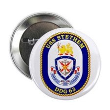 """USS Stethem DDG 63 2.25"""" Button (10 pack)"""