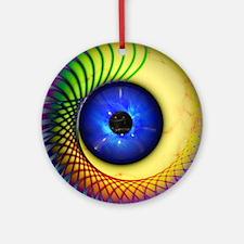 Psychedelic Eye Ornament (Round)