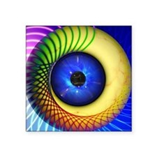 Psychedelic Eye Sticker