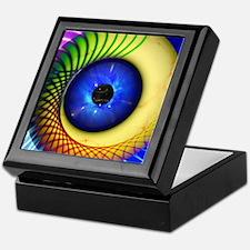 Psychedelic Eye Keepsake Box