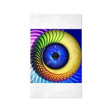 Psychedelic Eye 3'x5' Area Rug