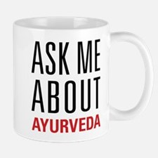 Ayurveda - Ask Me About Mug