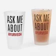 Ayurveda - Ask Me About Drinking Glass