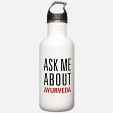 Ayurveda - Ask Me Abou Sports Water Bottle