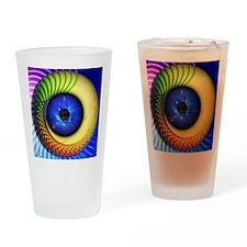 Psychedelic Eye Drinking Glass