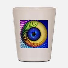 Psychedelic Eye Shot Glass