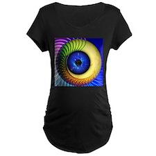 Psychedelic Eye Maternity T-Shirt