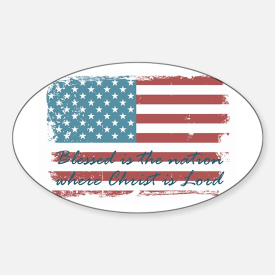 Blessed Nation Decal