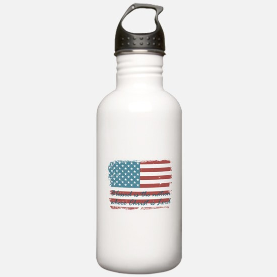 Blessed Nation Water Bottle