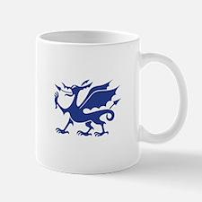 Blue Chinese Dragon Mugs