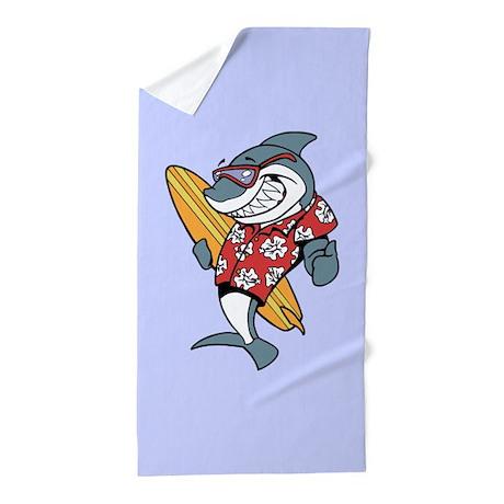 Surf Shark Beach Towel