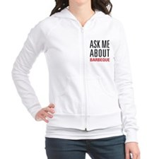 Barbeque - Ask Me About Fitted Hoodie