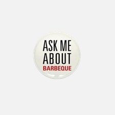 Barbeque - Ask Me About Mini Button (100 pack)