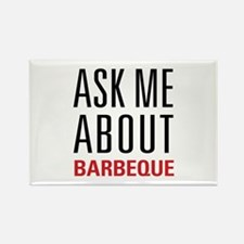 Barbeque - Ask Me Abou Rectangle Magnet (100 pack)