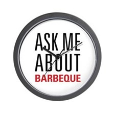 Barbeque - Ask Me About Wall Clock