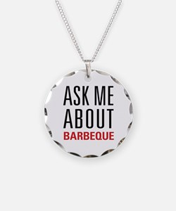 Barbeque - Ask Me About Necklace