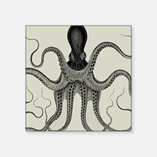 Vintage Octopus Design Sticker